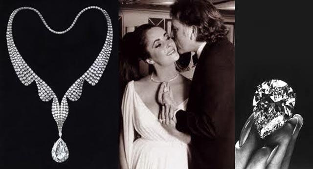 Il diamante taylor burton e le star di hollywood anelli for Anelli di fidanzamento famosi