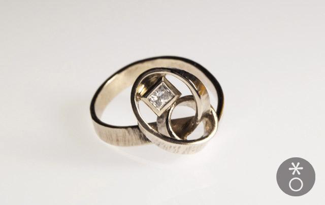 Extrêmement La magnifica sfida degli anelli di fidanzamento alternativiAnelli  UX23