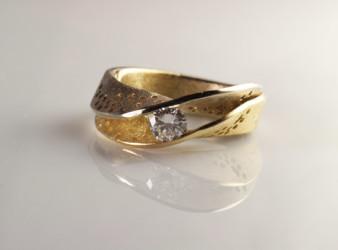 foto diamante per anello
