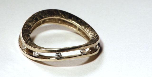 Veretta artigianale di diamanti