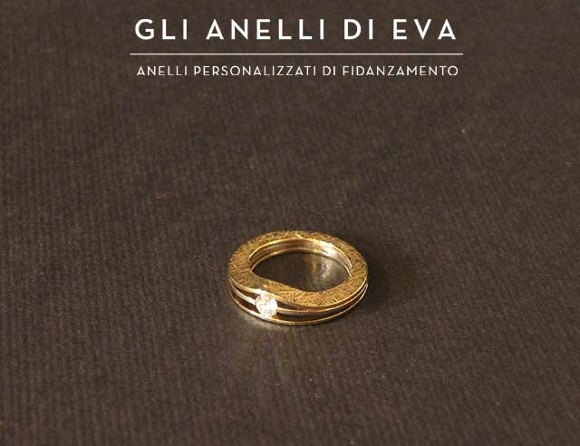 Anello di Fidanzamento Etico personalizzato, creato da Eva.