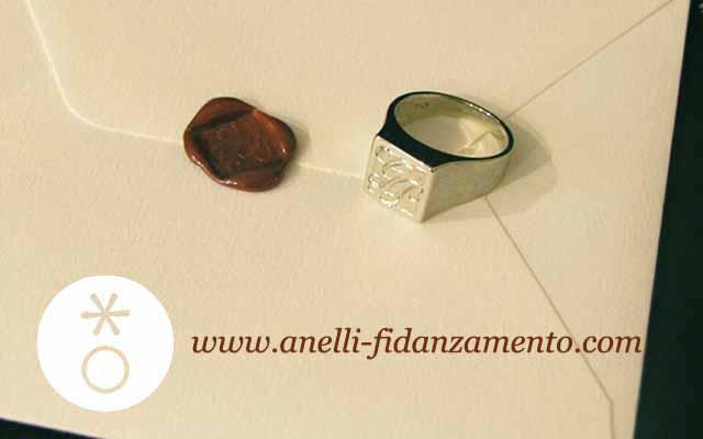 Anello Uomo inciso - Anelli da Uomo Personalizzati