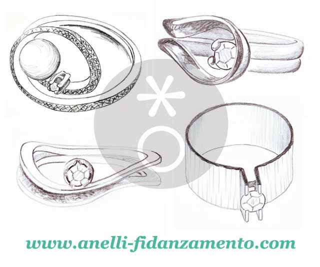 foto anelli personalizzati