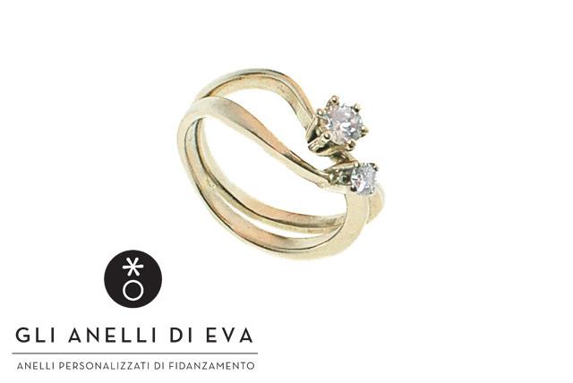 """Se la tua ragazza ha già un diamantino, ti consiglio di fare come Susanna e creare un originalissimo """"Dilogy""""."""