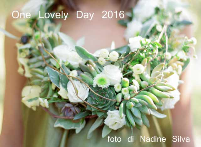 one lovely day matrimonio