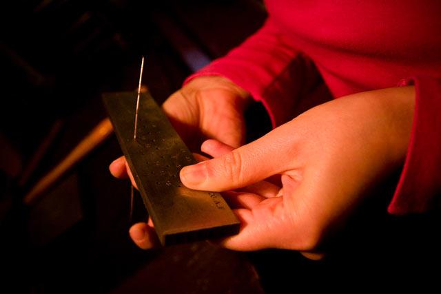La trafila del filo d'oro è un metodo molto usato dalla scuola orafa di Padova.